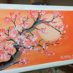 Cherry blossom & life